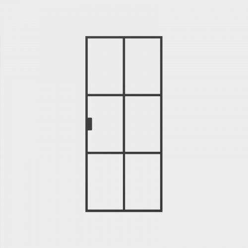 New Yorker Glasenkeltdør