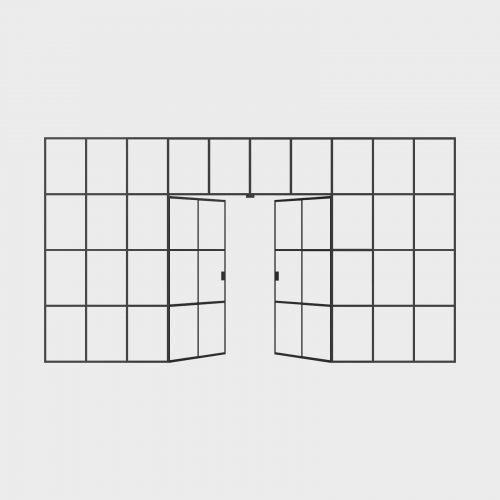 New Yorker Væg - 10 fag