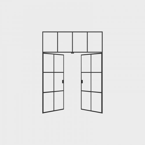New Yorker Væg - 4 fag