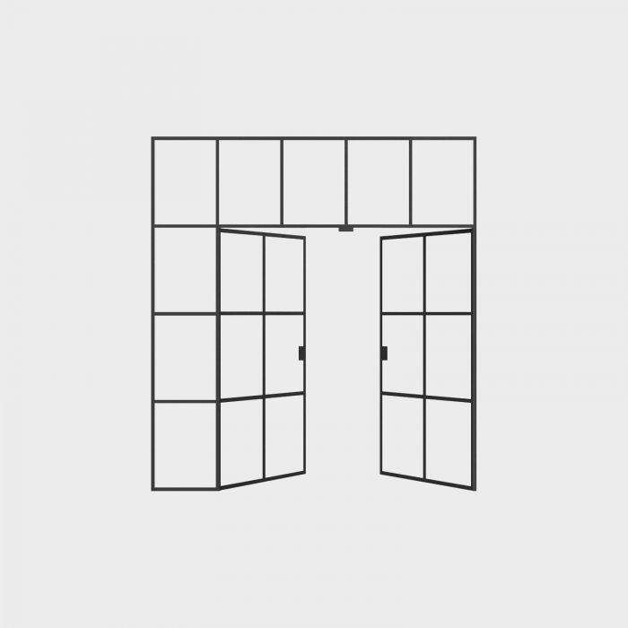 New Yorker Væg- 5 fag
