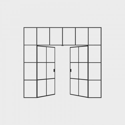 New Yorker Væg - 6 fag