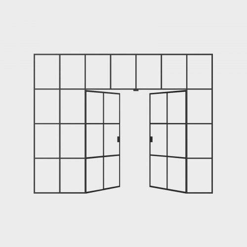 New Yorker Væg - 7 fag