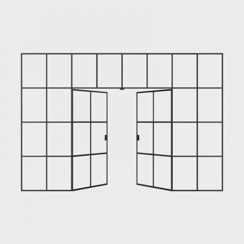 New Yorker Væg - 8 fag