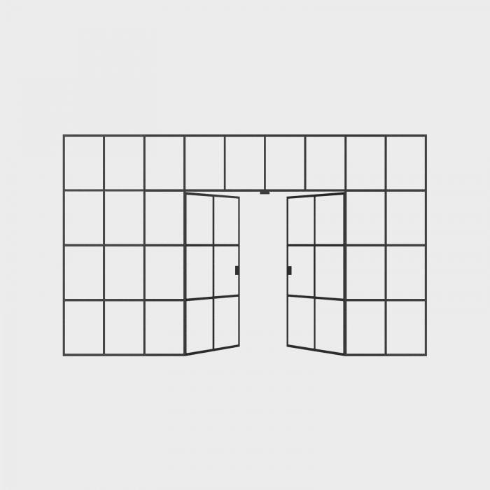 New Yorker Væg - 9 fag