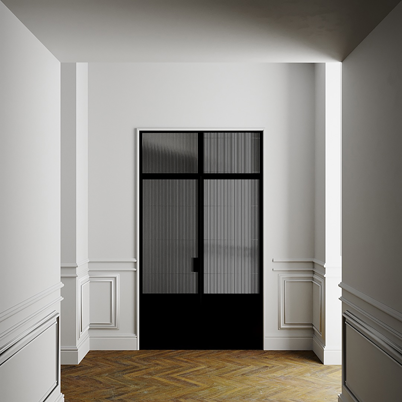 New Yorker Glasdør